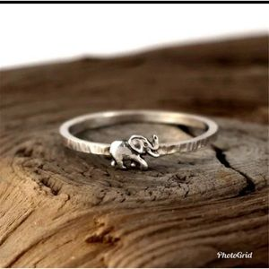 Lovely Elephant Rings for Women Holiday Ring